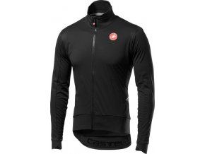 Castelli – pánská bunda Alpha RoS Light, light black/black