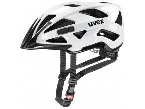 20 UVEX HELMA ACTIVE, WHITE BLACK