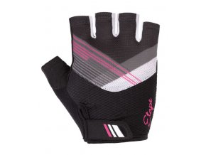 Etape –rukavice LIANA, černá|růžová