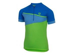 Etape – dětský dres PEDDY, zelená modrá