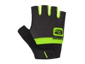Etape – rukavice AIR, černá|zelená