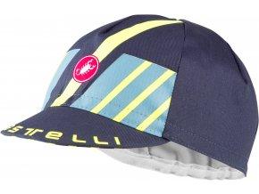 Castelli - čepice Hors Categorie, dark steel blue