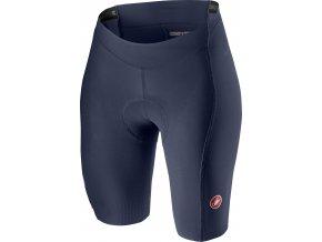 Castelli - dámské kalhoty Velocissima 2 s vložkou, dark steel blue/pink fluo