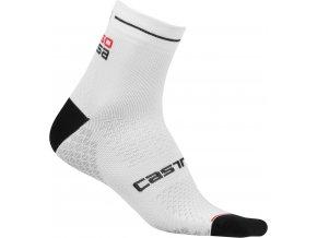 Castelli - dámské ponožky Rosa Corsa Due, white