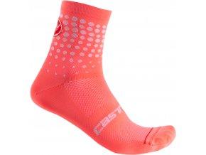 Castelli - dámské ponožky Puntini, brilliant pink