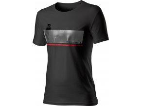 Castelli - pánské triko Fenomeno, black