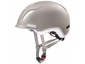 20 UVEX HELMA CITY 9, WARM GREY 53-58