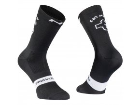 Cykloponožky NORTHWAVE Eat My Dust Socks Black