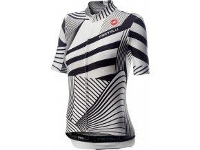 Castelli - dámský dres Sublime, white/black