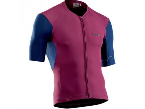Cyklodres NORTHWAVE Extreme 4 Jersey Short Sleeves Bordeaux/Blue