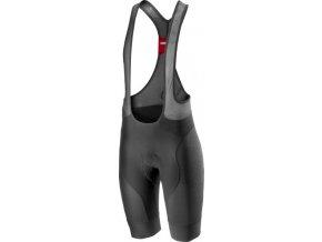 Castelli - pánské kalhoty Free Aero Race 4 s vložkou, dark gray