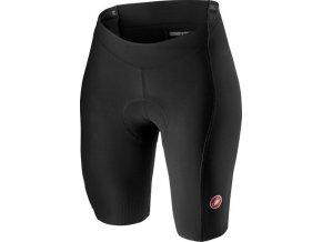 Castelli - dámské kalhoty Velocissima 2 s vložkou, black/white/dark gray