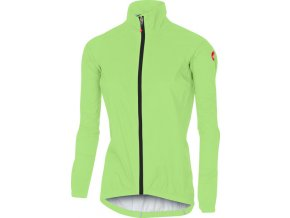 Castelli – dámská bunda Emergency Rain, yellow fluo