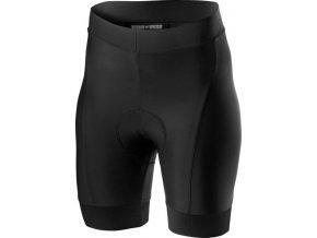Castelli - dámské kalhoty Prima s vložkou, black/red