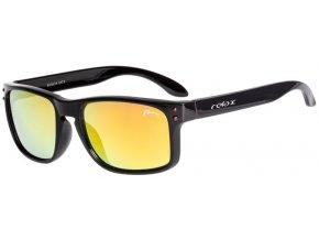 Dětské sluneční brýle RELAX Melite černé R3067A