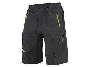 Etape - pánské volné kalhoty FREERIDE, černá/zelená