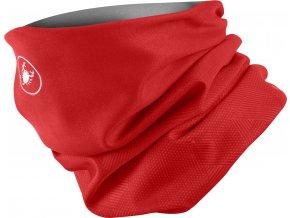 Castelli - multifunkční šátek Pro Thermal, red