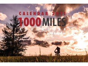 1000 miles adventute calendar 2021