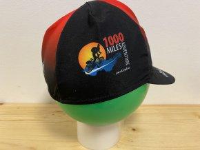 Cyklistická čepička 1000MILES červená