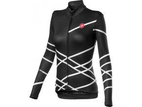Castelli – dámský dres Diagonal, light black