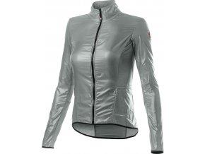 Castelli - dámská větrovka Aria, silver grey