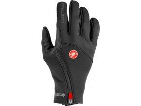 Castelli – pánské rukavice Mortirolo, light black