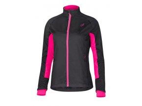 Etape – dámská zimní bunda FUTURA WS, černá/růžová