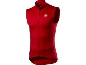Castelli - pánská vesta Pro Thermal Mid, red