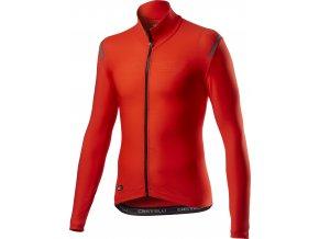 Castelli - dres Tutto Nano RoS dl. rukáv, fiery red