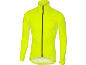Castelli - bunda Emergency Rain, yellow fluo