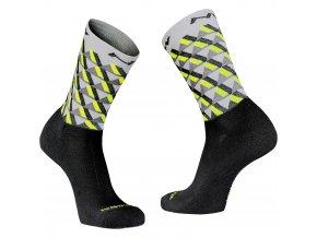 Zimní cykloponožky NORTHWAVE Core High Socks Wool