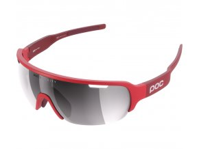 402013 slunecni bryle poc do half blade bohrium red clarity cat 3 silver 80066