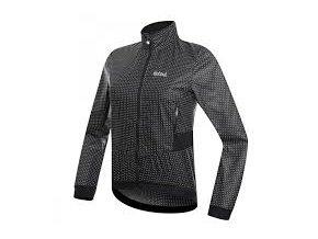 Dámská cyklistická bunda Dotout Tempo Jacket - black/white