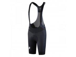 Cyklistické kalhoty Dotout Combo Dryntech Bib Short - Black