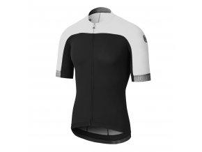 Cyklistický dres Dotout Skin Jersey - Black/White