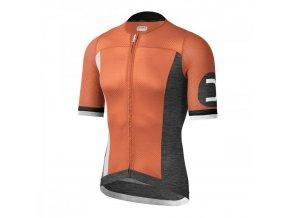 Cyklistický dres Dotout Aero-Light Jersey - Fluo Orange