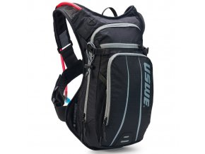 Cyklistický batoh USWE Airborne 9 - black/grey