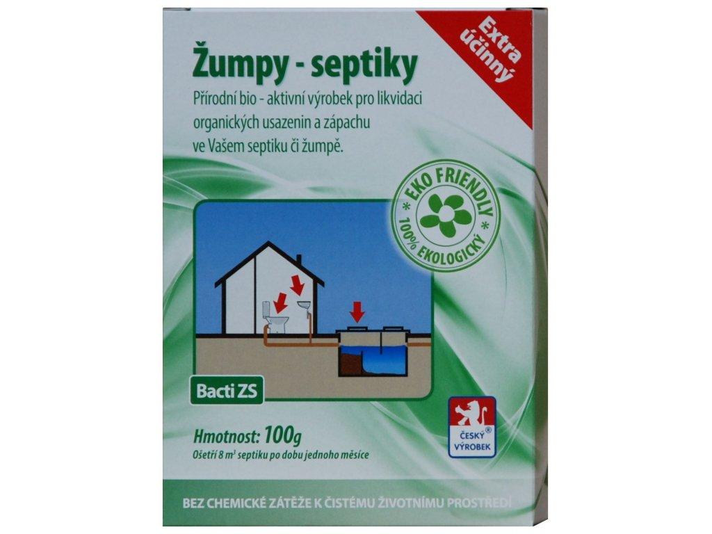 Bacti ZS - Bakterie do žump a septiků - 100g