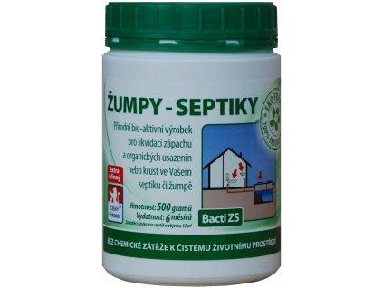 Bacti ZS - Bakterie do žump a septiků - 0,5kg