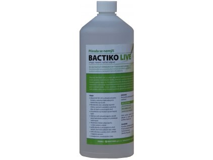 Bactiko LIVE - Bakterie do sociálních zařízení