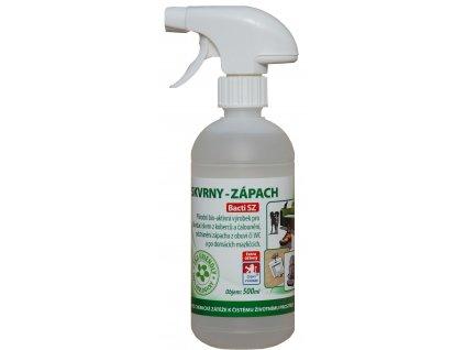 Bacti SZ - Bakterie na skvrny a zápach - 0,5l