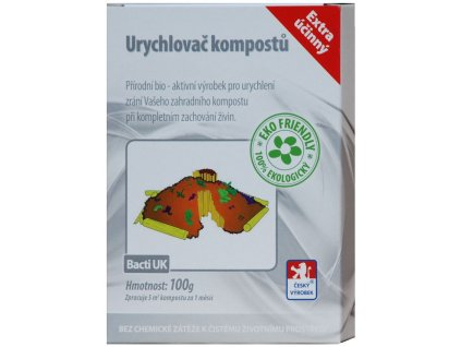 Bacti UK - Bakterie do kompostu - 100g