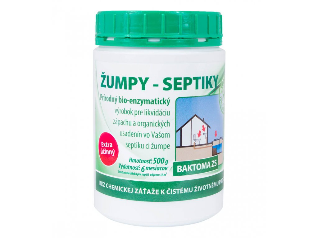 Baktoma ZS - Baktérie do žúmp a septikov - 0,5kg