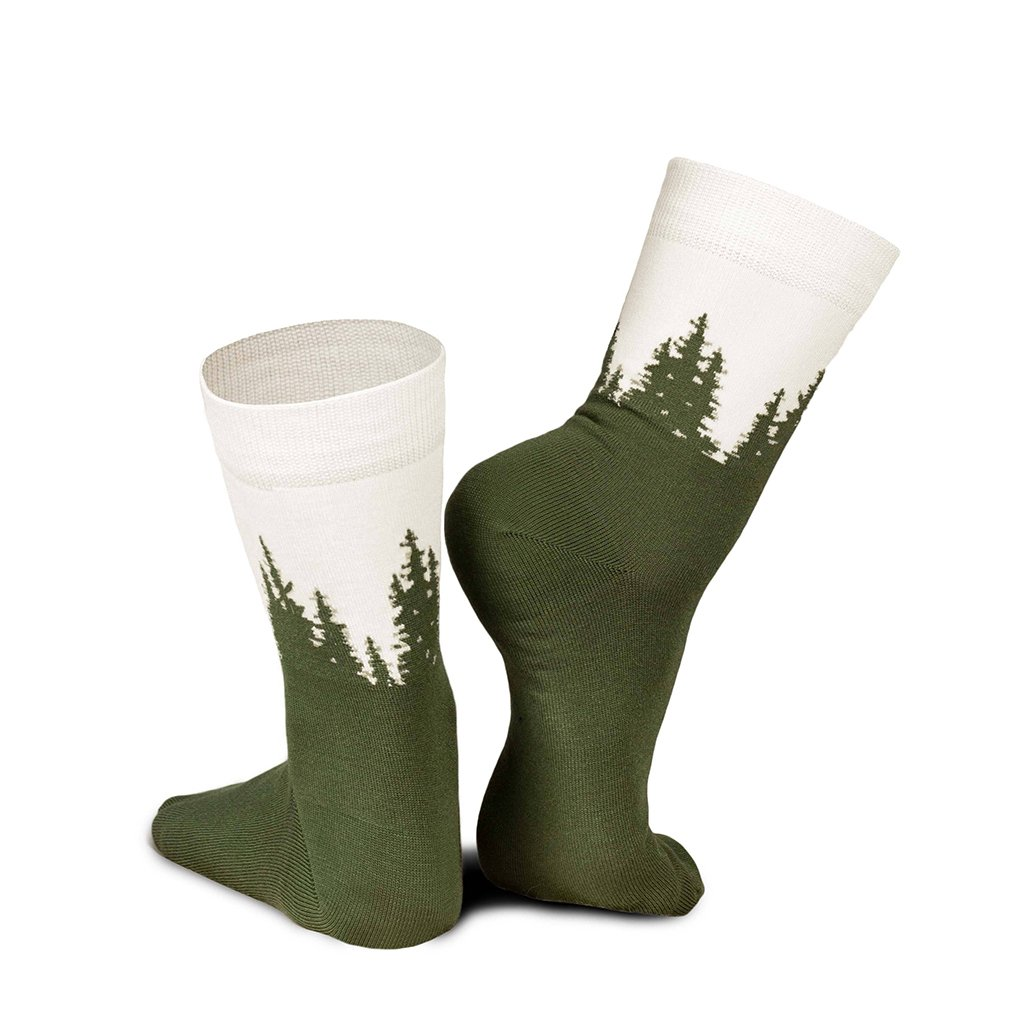 nikin treesocks standard forest green