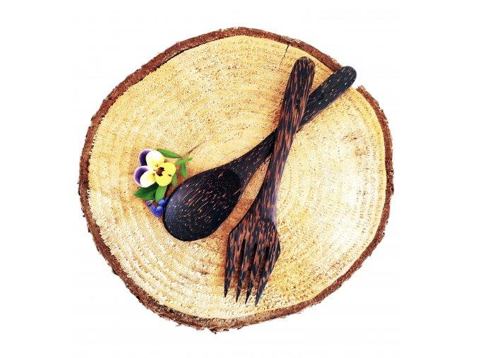 Kokosový příbor