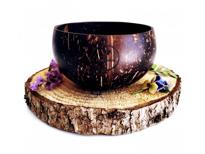 Kokosová miska NATURAL L