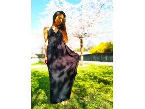 BOHO šaty BLACK ANGEL