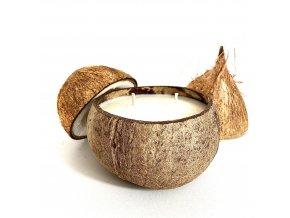 Svíčka v kokosce PURE COCONUT- NA OBJEDNÁNÍ