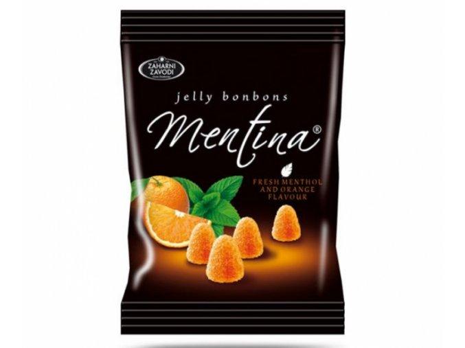 Bonbony žele pomeranč 90g Mentina