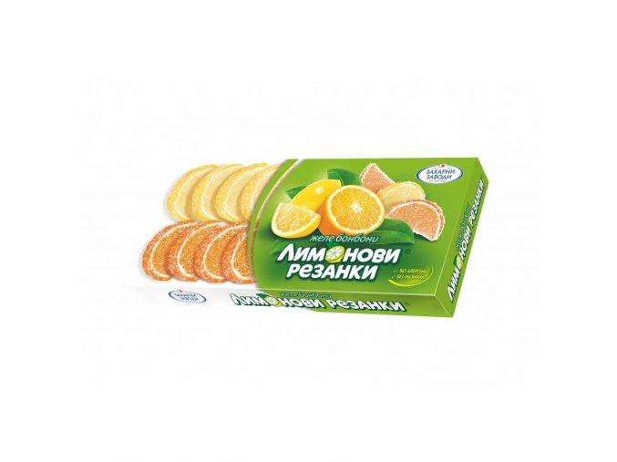 Citrusové želé měsíčky 180g